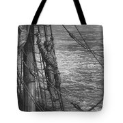 The Mariner Describes To His Listener The Wedding Guest His Feelings Of Loneliness And Desolation  Tote Bag