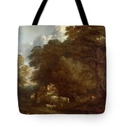 The Market Cart Tote Bag
