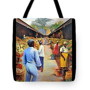The Market Place Tote Bag