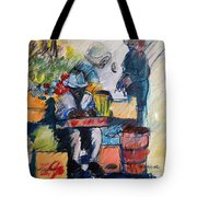 The Marketplace Tote Bag