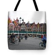 The Markt Bruges Belgium Tote Bag
