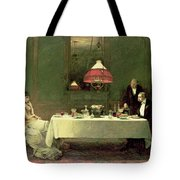 The Marriage Of Convenience, 1883 Tote Bag by Sir William Quiller Orchardson