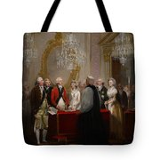 The Marriage Of The Duke And Duchess Of York Tote Bag