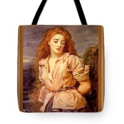 The Martyr Of The Solway Poster Tote Bag