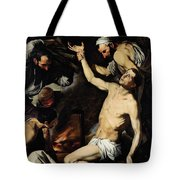 The Martyrdom Of Saint Lawrence Tote Bag by Jusepe de Ribera