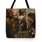 The Martyrdom Of Saint Mena Tote Bag