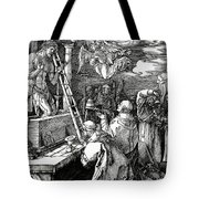 The Mass Of St. Gregory Tote Bag