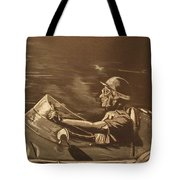 The Master Fangio At The Green Hell Tote Bag