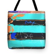 The Max Face In Inverted Colors Tote Bag