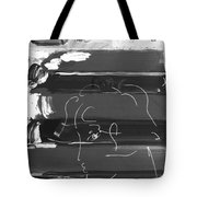 The Max Face In Negative Tote Bag