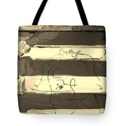 The Max Face In Sepia Tote Bag