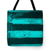 The Max Face In Turquois Tote Bag
