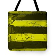 The Max Face In Yellow Tote Bag