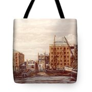 The Mayfloer Pub Rotherhithe London Tote Bag