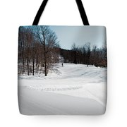 The Mccauley Mountain Ski Area Tote Bag