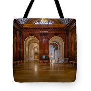The Mcgraw Rotunda At The New York Public Library Tote Bag