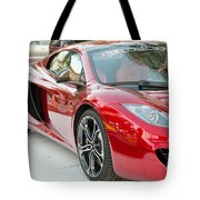 The Mclaren Apple Red Collection  Tote Bag