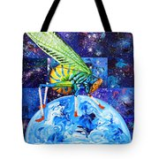 The Meek Shall Inherit The Parallel Universes Tote Bag