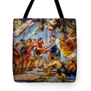 The Meeting Of Abraham And Melchizedek Tote Bag