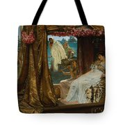 The Meeting Of Antony And Cleopatra  41 Bc Tote Bag