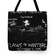 The Men Of The Hour Tote Bag