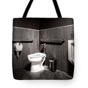 The Mens Room Tote Bag
