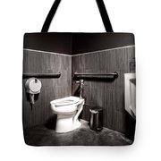 The Mens Room Tote Bag by Bob Orsillo
