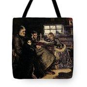The Menshikov Family In Beriozovo, 1883 Oil On Canvas Tote Bag