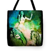 The Mermaid Mirror Tote Bag