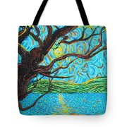 The Mermaid Tree Tote Bag