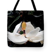 New Orleans Metamorphous Of The Southern Magnolia Spring Equinox In Louisiana Tote Bag