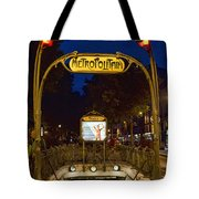 The Metropolitain #2 Tote Bag