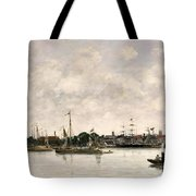 The Meuse At Dordrecht Tote Bag