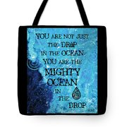 The Mighty Celtic Ocean Tote Bag