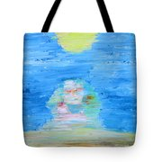 The Mighty Sphinx Tote Bag