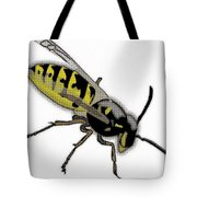 The Mighty Wasp Tote Bag