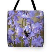 The Milky Bellflower Tote Bag