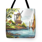 The Olde Mill Tote Bag