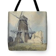 The Mill St Benet's Abbey Tote Bag