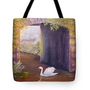 The Mill Swan Tote Bag