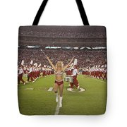 The Million Dollar Marching Band Of The University Of Alabama Tote Bag