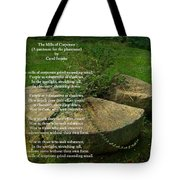 The Mills Of Corporate - Poem And Image Tote Bag