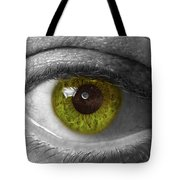 The Minds Eye Black And White Tote Bag
