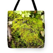 The Miniature World Of The Moss Tote Bag