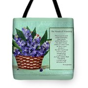 The Miracle Of Friendship Tote Bag