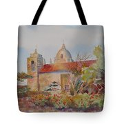 The Mission At Carmel Tote Bag