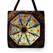 The Mission Inn Looking Up Tote Bag