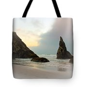 The Mist Of The Ocean Tote Bag