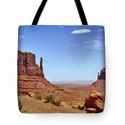 The Mittens Monument Valley Tote Bag
