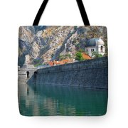 The Moat Of Kotor Tote Bag